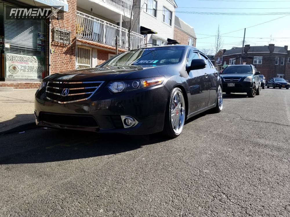 Acura Tsx Work Ls Megan Racing Coilovers - Acura tsx wheel offset
