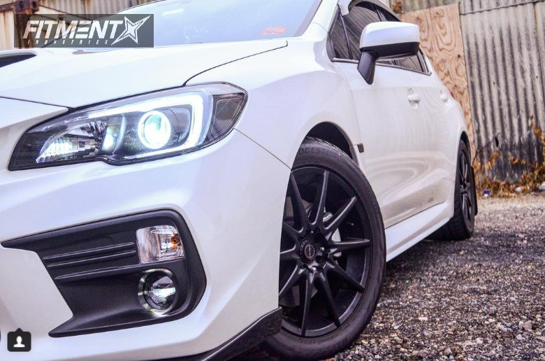 5 2018 Wrx Subaru Stock Stock Focal F 04 Black