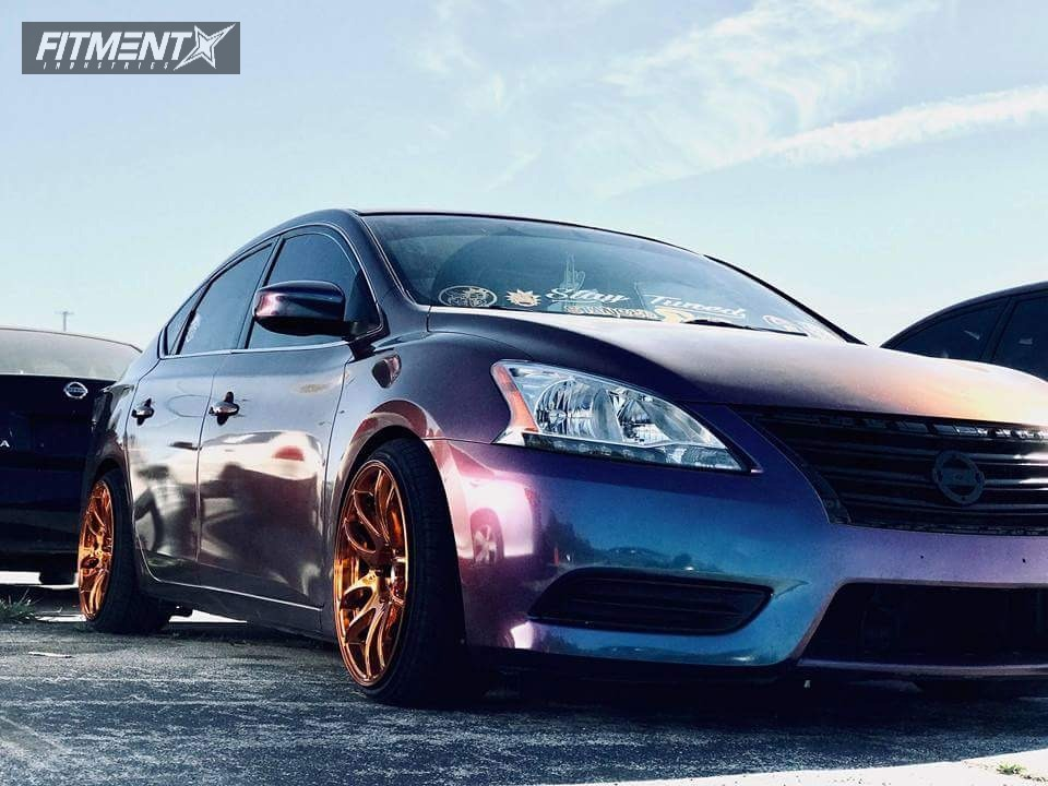 1 2013 Sentra Nissan Rev9 Hyper Street Coilovers Coilovers Esr Rf1 Gold