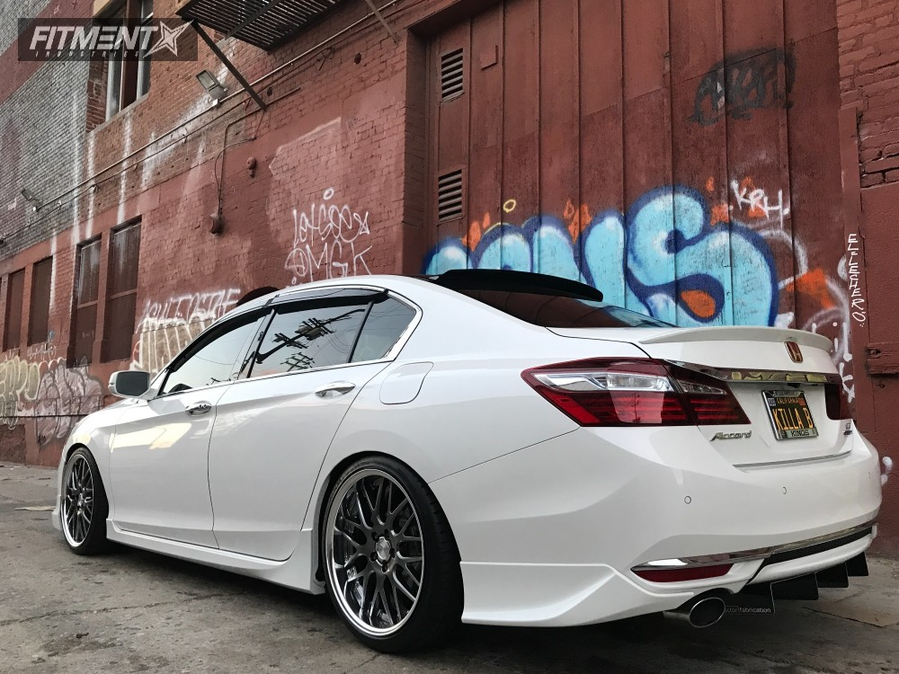 2016 Honda Accord Work Lanvec Lm1 Tein Coilovers Fitment Industries