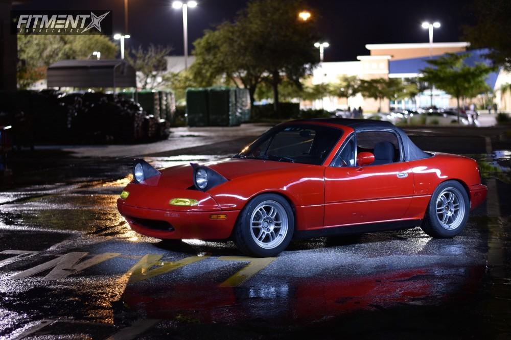Buy Tires Online >> 1990 Mazda Mx 5 Miata Enkei Rpf1 Tein Coilovers | Fitment Industries