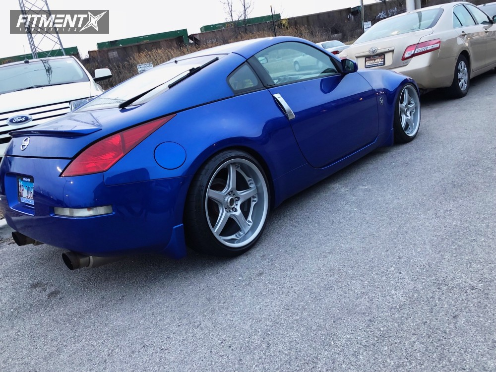 ... 4 2005 350z Nissan Top Speed Pro Coilovers Volk Gts Silver