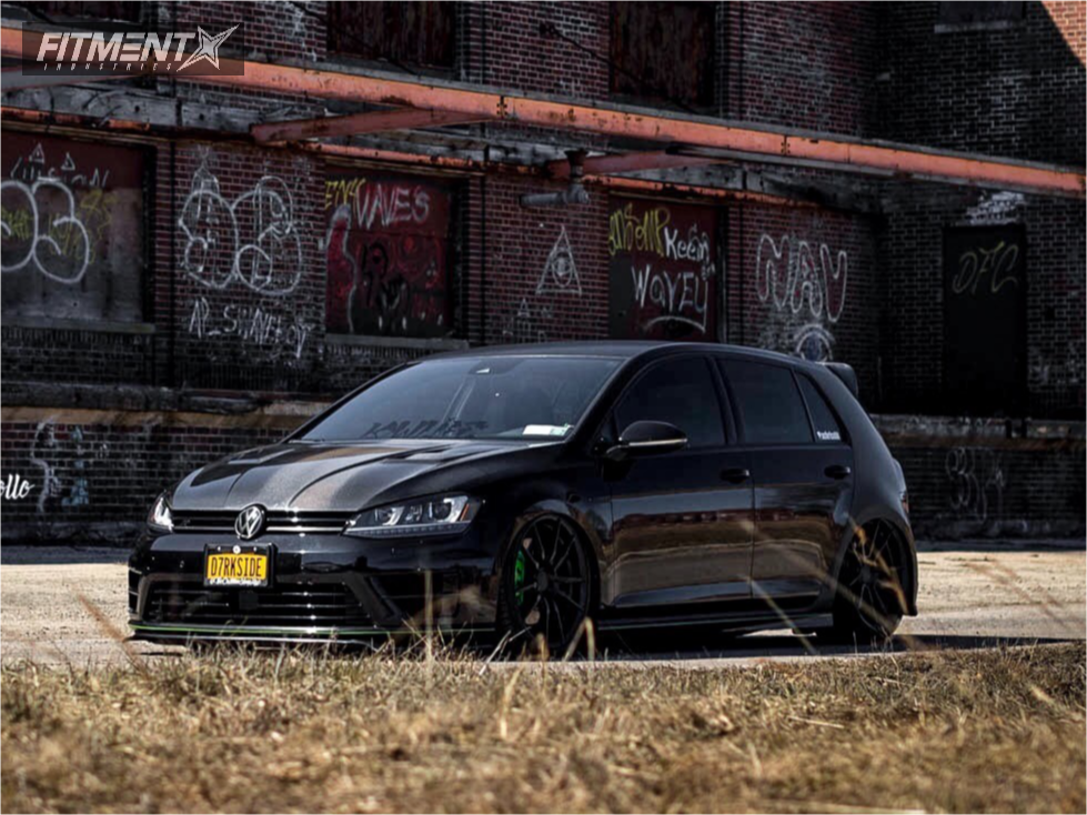 Continental Extremecontact Dw >> 2016 Volkswagen Golf R Rohana Rf2 Air Lift Performance Air ...