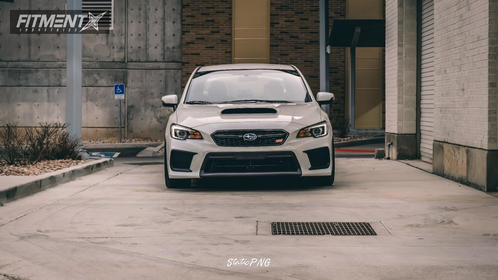2 2018 Wrx Sti Subaru Fortune Auto Coilovers Option Lab R716 Black