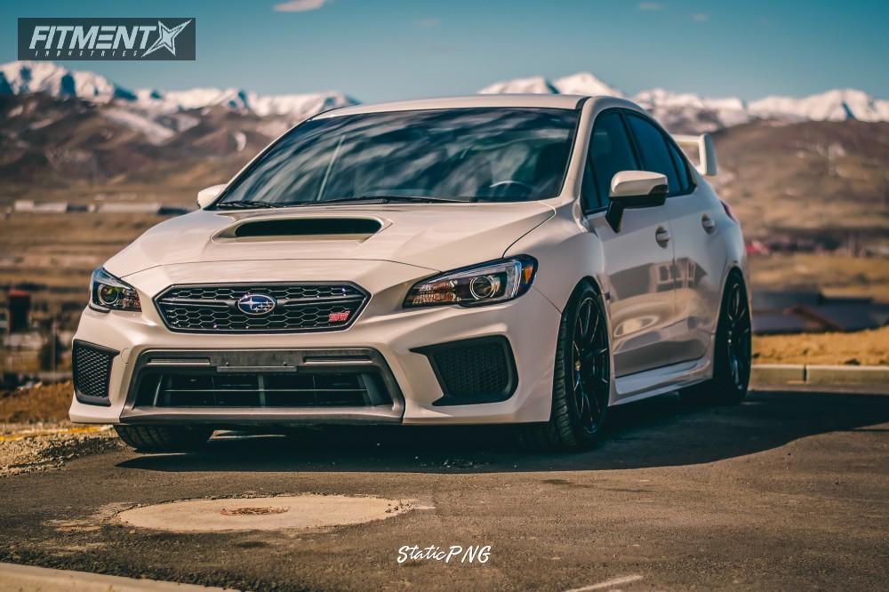 5 2018 Wrx Sti Subaru Fortune Auto Coilovers Option Lab R716 Black