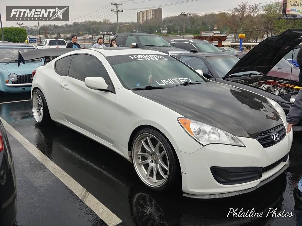 1 2012 Genesis Coupe Hyundai Eibach Lowering Springs Aodhan Ds02 Silver