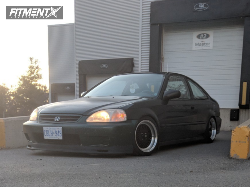 1 2000 Civic Honda Yonaka Motorsports Coilovers Enkei Other Black