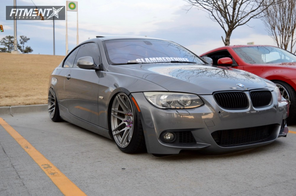2011 bmw 335i xdrive forgestar f14 air lift performance air suspension. Black Bedroom Furniture Sets. Home Design Ideas
