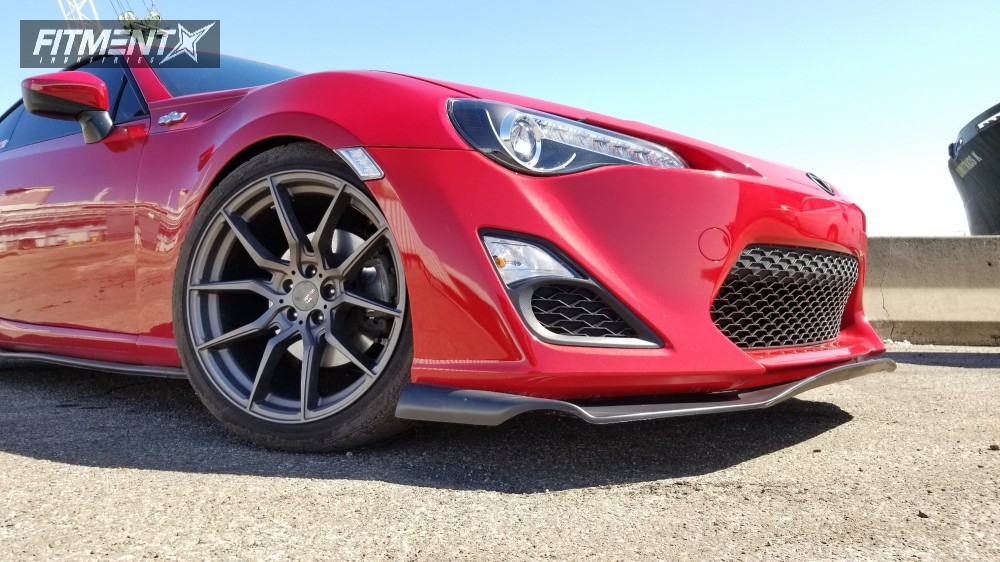 8 2013 Fr S Scion St Coilovers Option Lab R716 Gunmetal