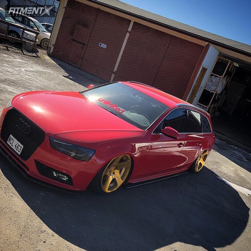 2014 Audi A4 Rotiform Tmb Air Lift Performance Air Suspension