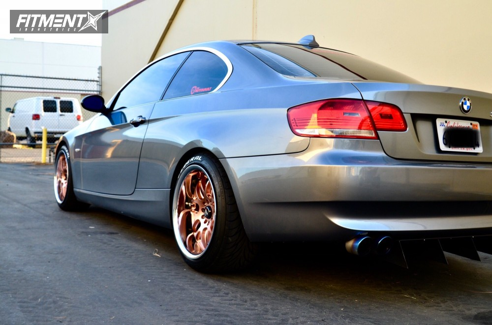 2007 Bmw 328i Xxr 526 Eibach Lowering Springs