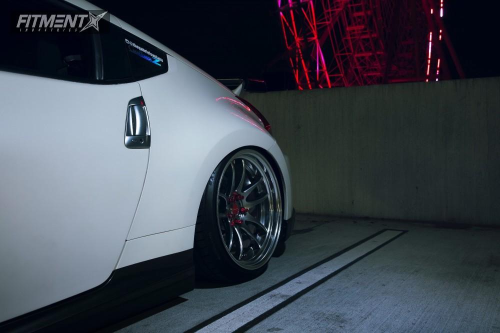 2014 Nissan 370z Work Cr2p Air Lift Performance Air