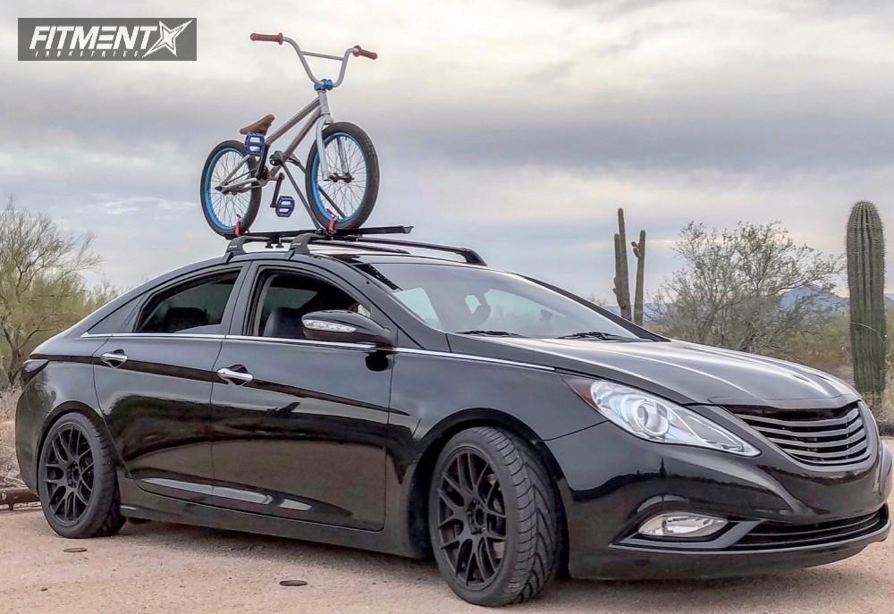 4 2017 Sonata Hyundai Hr Lowering Springs R 530 Black