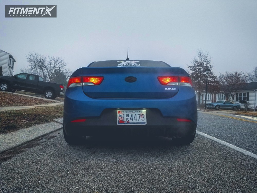 3 2013 Forte Koup Kia Bc Racing Coilovers Rotiform Ccv Machined Black
