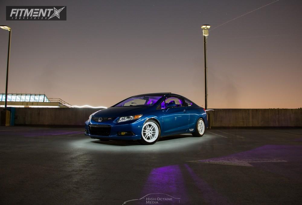 2012 Honda Civic Enkei Rpf1 Tein Coilovers | Fitment ...