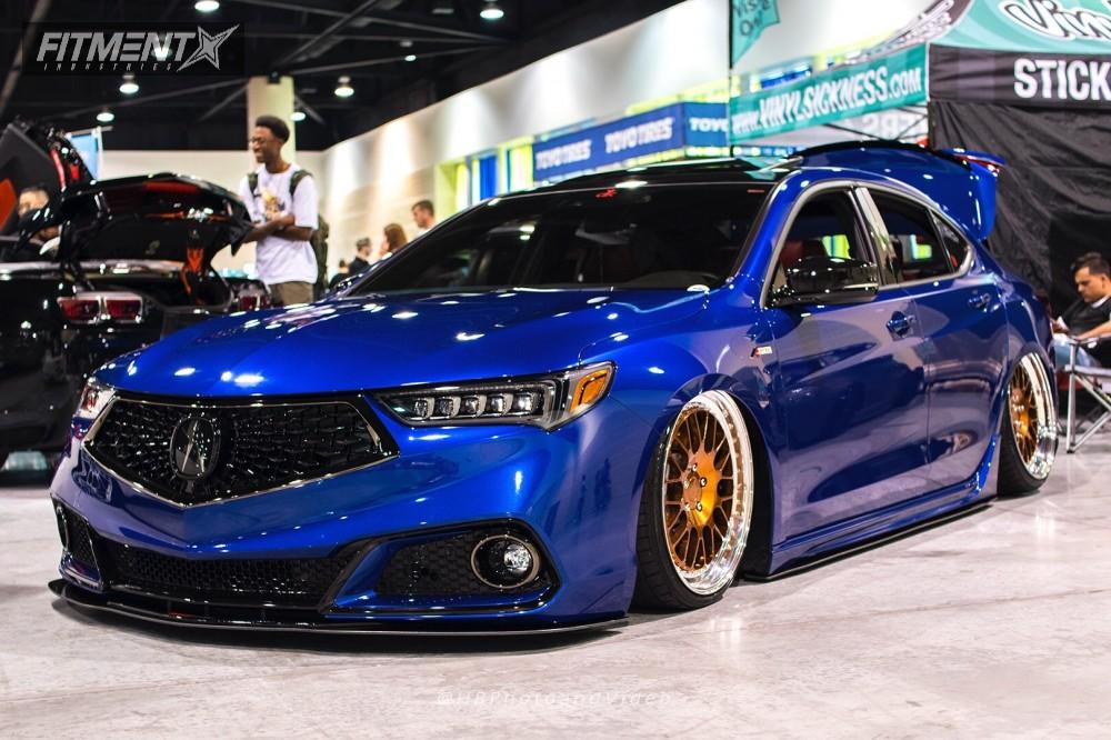 2015 Acura Tlx Tech >> 2018 Acura Tlx Rotiform Air Lift Performance Air Suspension