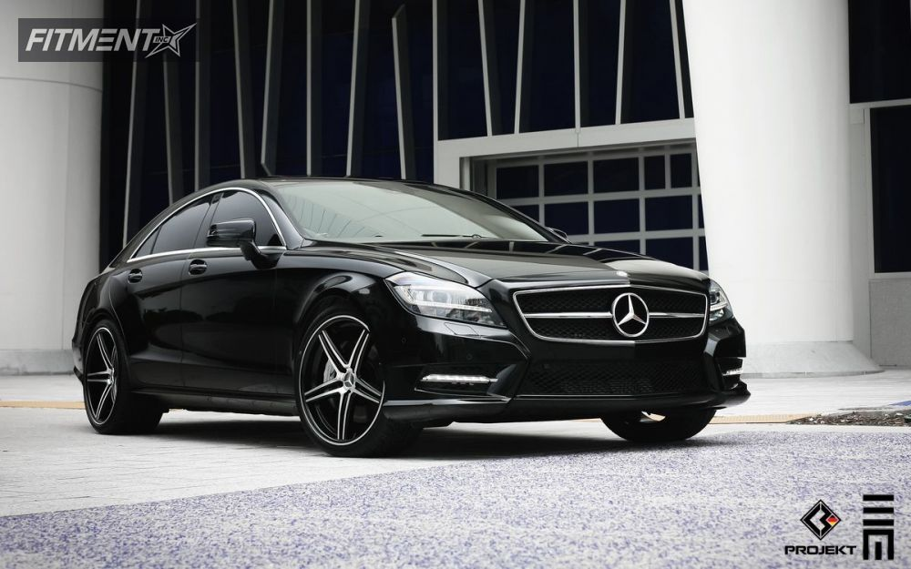 2012 Mercedes Benz Cls550 K3 Projekt F2 Lowered On Springs | Fitment