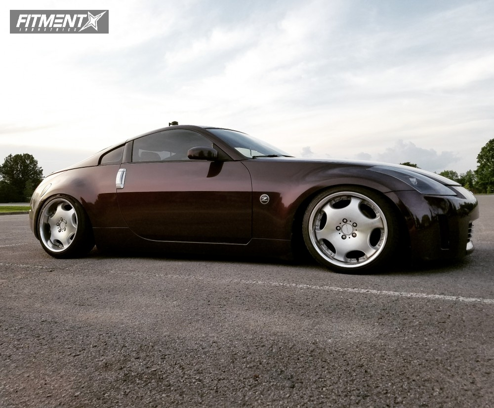2003 nissan 350z ame shallen lx parts shop max coilovers fitment