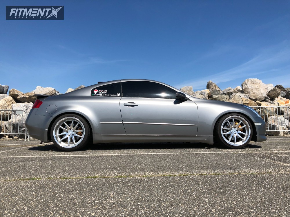 14 2004 G35 Infiniti Tein Coilovers Aodhan Ds02 Machined