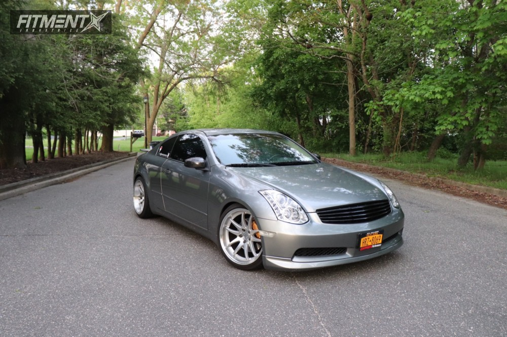 15 2004 G35 Infiniti Tein Coilovers Aodhan Ds02 Machined