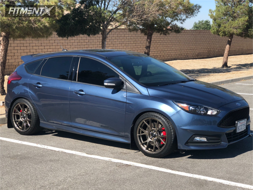 1 2018 Focus Ford Eibach Lowering Springs Konig Ampliform Bronze