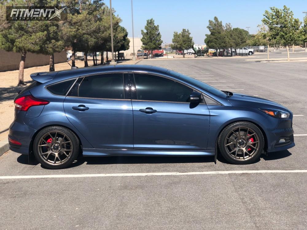 Ford Focus Wheels And Tires >> 2018 Ford Focus Konig Ampliform Eibach Lowering Springs