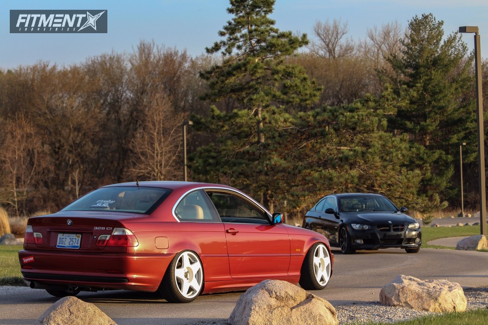 2000 Bmw 328ci Fifteen52 Tarmac Bc Racing Coilovers