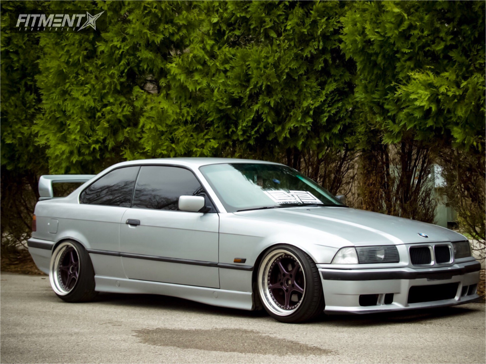 1996 Bmw 328is With 17x10 Hart Sport Odyssey And Federal 215x40 On Coilovers 417374 Fitment Industries