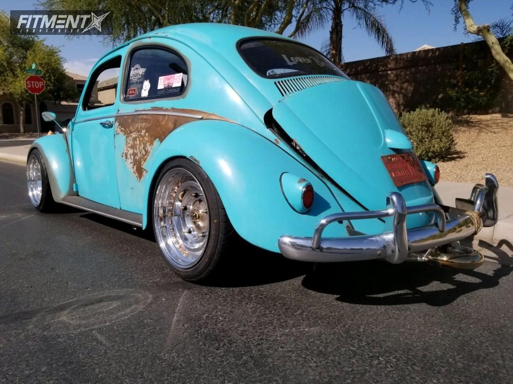 4 1958 Beetle Volkswagen Sway A Way Lowering Springs Limebug Gt35 Custom