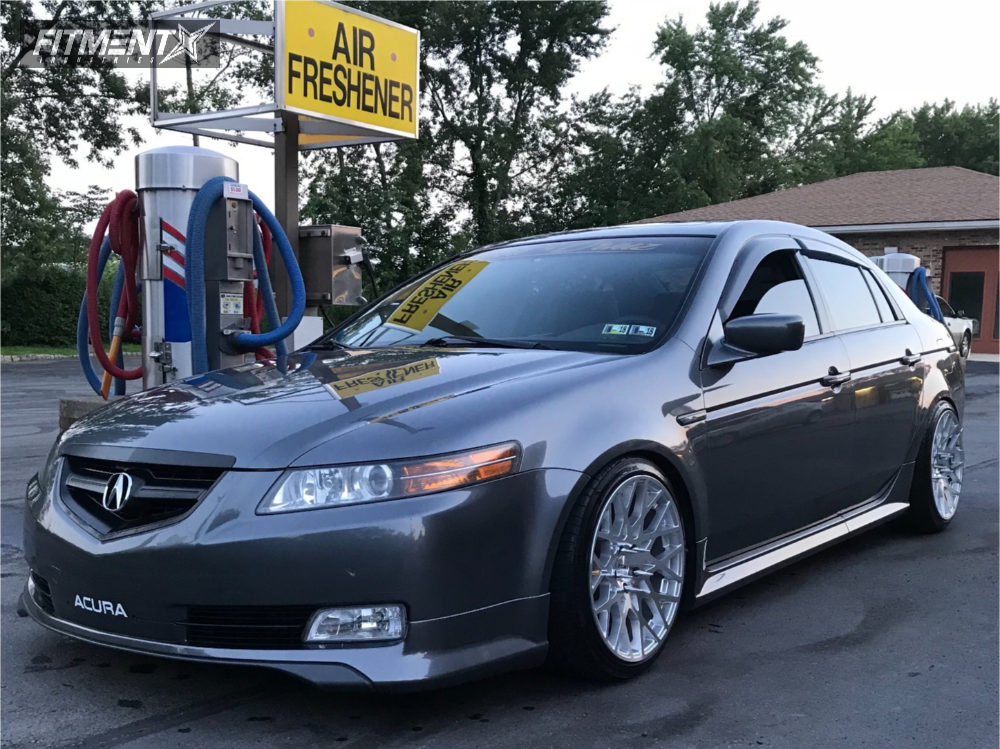 1 2005 Tl Acura Tein Coilovers Tsw Vale Machined