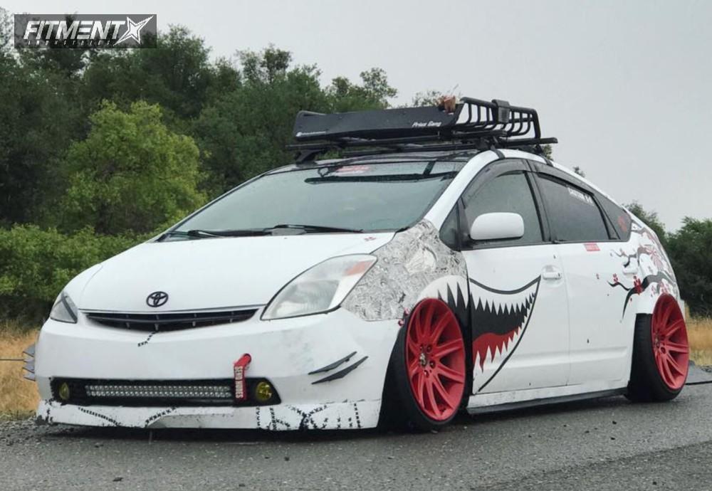 1 2004 Prius Toyota Megan Racing Coi Bmw Style 95 Red
