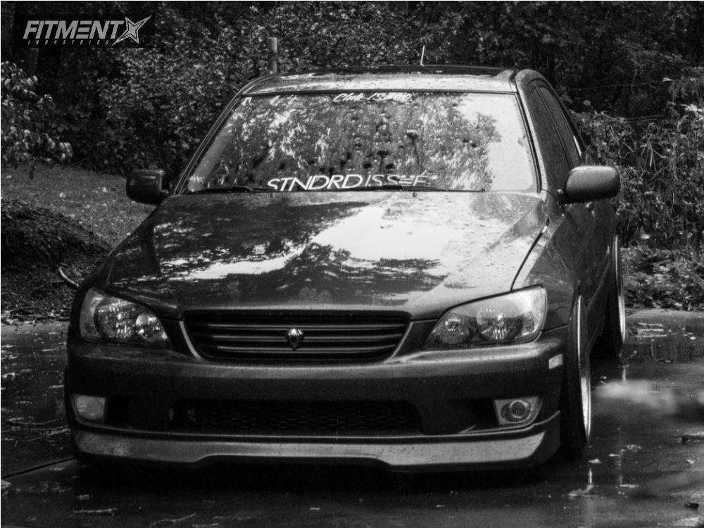 2 2003 Is300 Lexus Bc Racing Coilovers Aodhan Ds02 Gunmetal