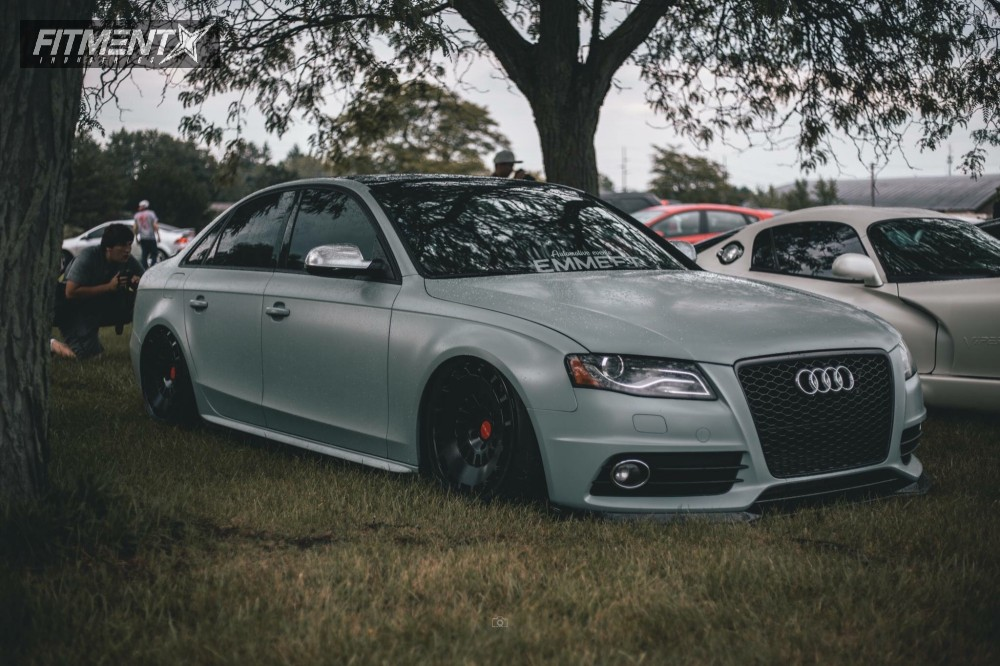 1 2010 S4 Audi Air Lift Performance Air Suspension Rotiform Ccv Black