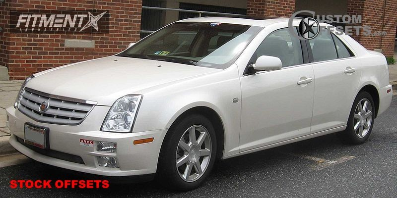 2005 Sts Cadillac Rwd 4dr Sedan 46l 8cyl 5a Stock Stock Silver Tucked 4429 1