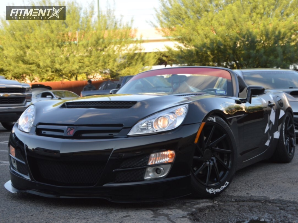 1 2009 Sky Saturn Base St Coilovers F1r F29 Black