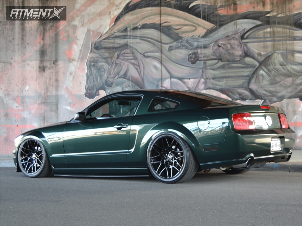 2008 Mustang Rims >> 2008 Ford Mustang Sve S500 Air Lift Performance Air