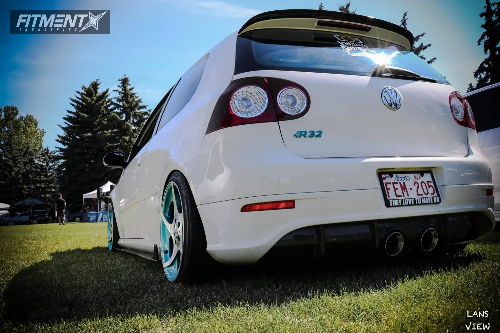 2008 Volkswagen R32 Ronal Kw Suspension Coilovers | Fitment
