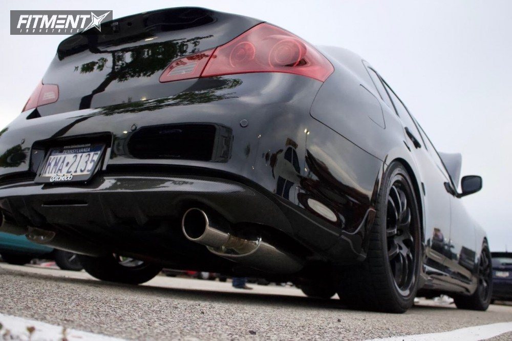 4 2010 G37 Infiniti Fortune Auto Coi Rays Engineering 73683 Black
