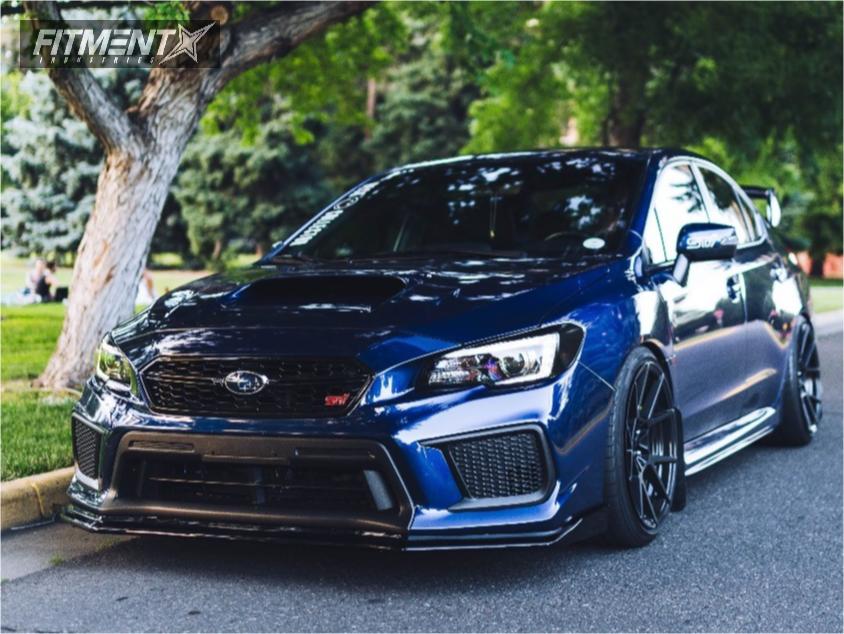 1 2018 Wrx Sti Subaru Bc Racing Coilovers Rotiform Kps Black