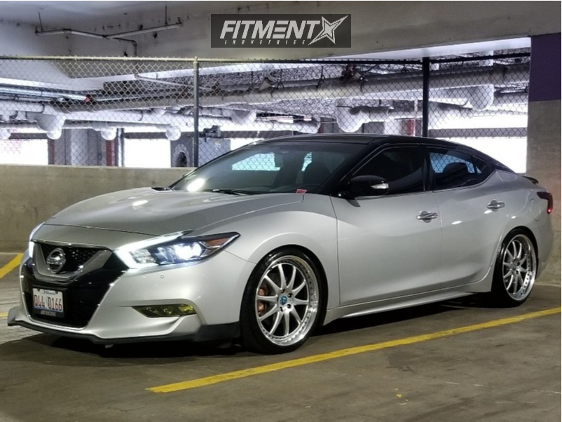 Buy 3 Get 1 Free Tires >> 2016 Nissan Maxima Work Vs Xf Eibach Lowering Springs | Fitment Industries