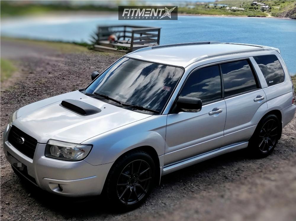 2008 Subaru Forester Option Lab R716 Swift Springs Lowering