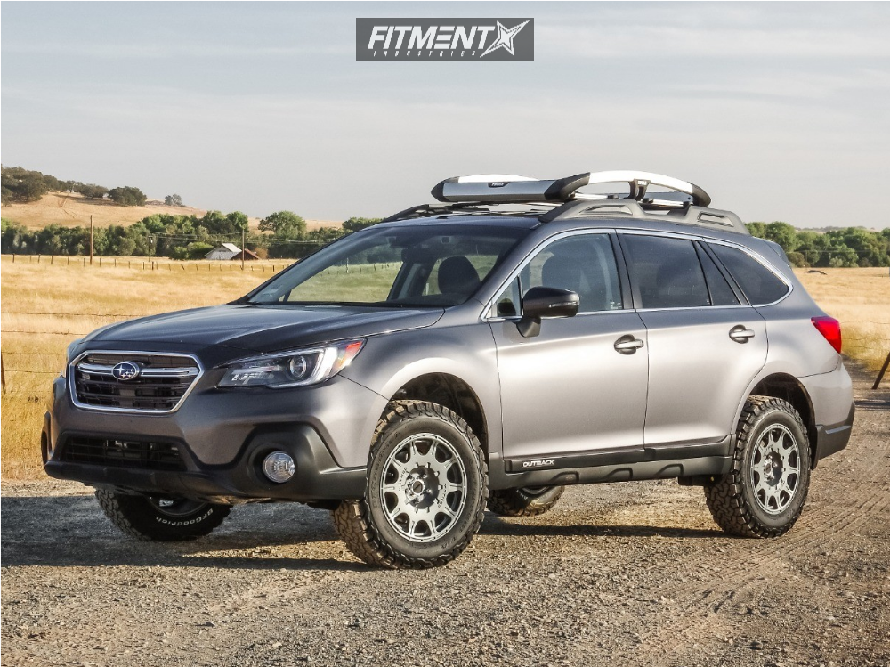 2018 Subaru Outback Method Roost Readylift Lifted Fitment ...