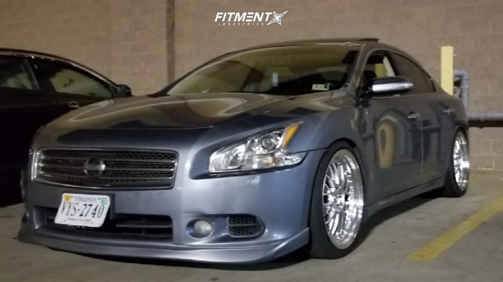 2010 Nissan Maxima >> 2010 Nissan Maxima Esr Sr01 K Sport Fitment Industries