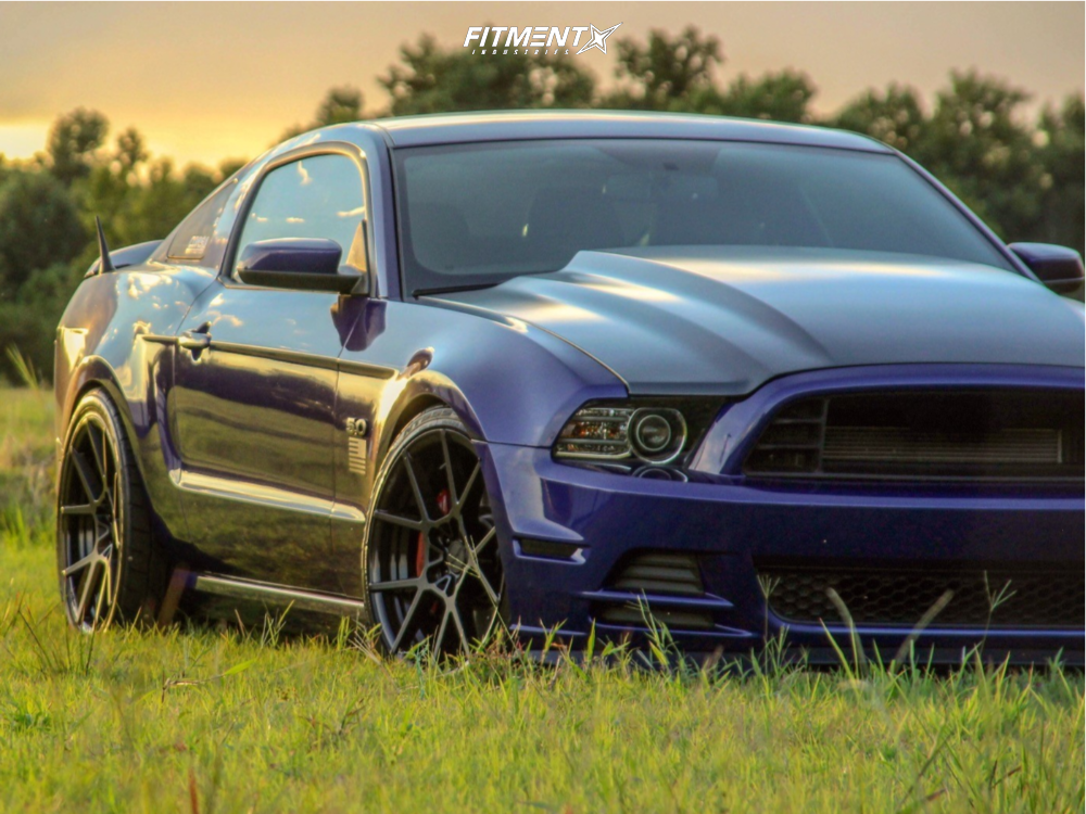 Mustang Ford Gt Eibach Lowering Springs Rotiform Kps Matte Black