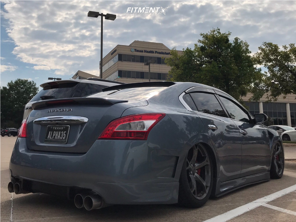 2010 Nissan Maxima Rays Engineering Nismo Air Lift Performance Air