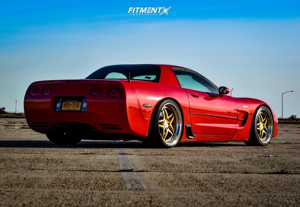 C5 Corvette with Heritage Wheels