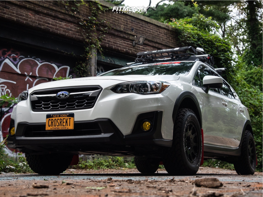 1 2018 Crosstrek Subaru Premium Stock Method Mr502 Black