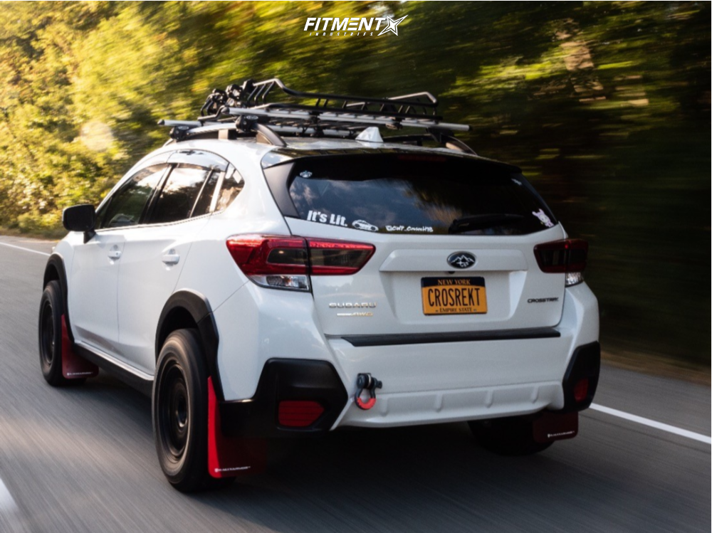 4 2018 Crosstrek Subaru Premium Stock Method Mr502 Black