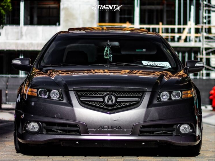 2008 Acura Tl Cosmis Racing Mr7 Function And Form Coilovers