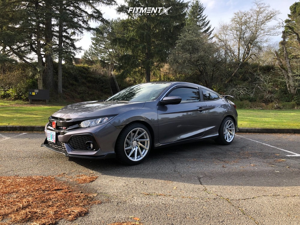 1 2018 Civic Honda Si Stock Stock F1r F29 Silver
